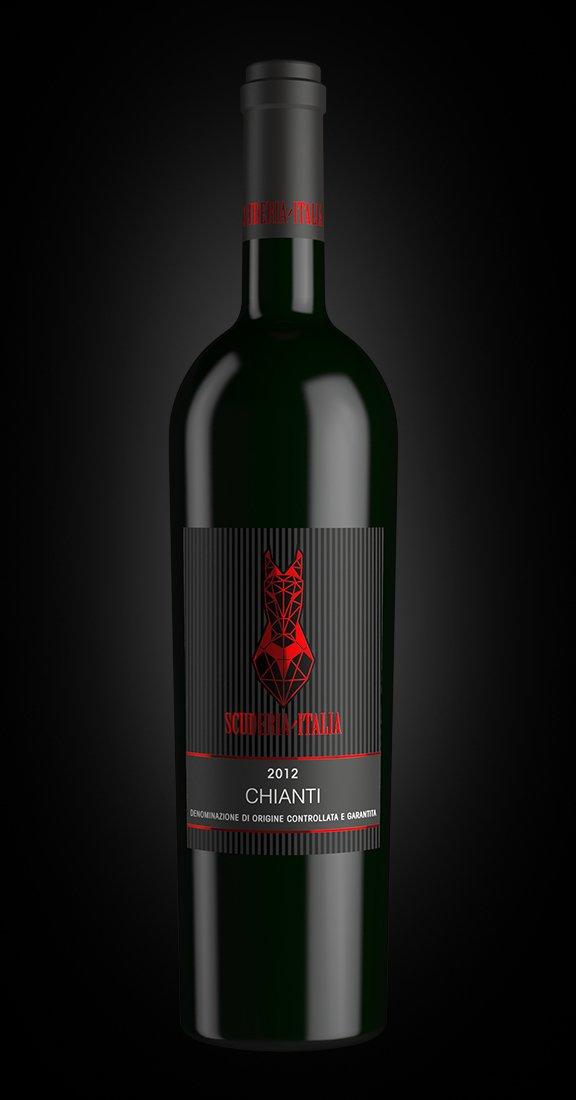 Chianti, vino rosso Scuderia Italia