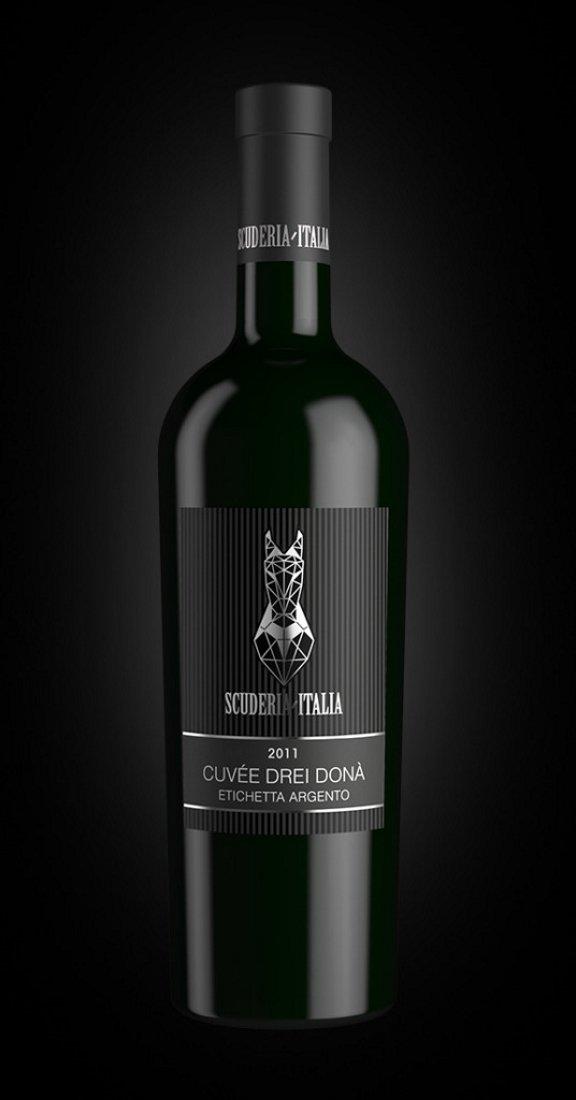 Cuvée Drei Donà 2011, Red Italian Wine, Scuderia Italia